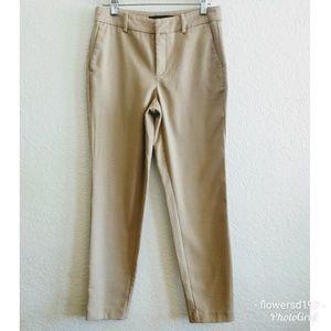 Zara Camel Ankle Length Pants Size 2